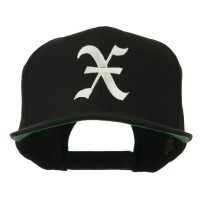 Embroidered Cap - Old English X Embroidered Cap