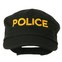 Embroidered Cap - Police Embroidered Army Cap
