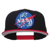 Embroidered Cap - NASA Patched Two Tone Snapback