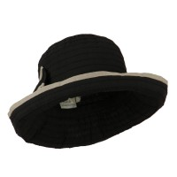 Dressy - Woman's Ribbon Bow Crushable Hat