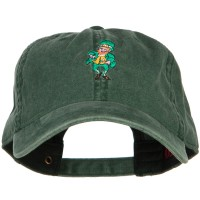 Embroidered Cap - Happy Leprechaun Embroidered Cap