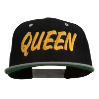 Embroidered Cap - Queen Embroidered Snapback