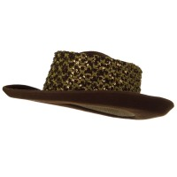 Western - Sequin B, Wool Felt Hat