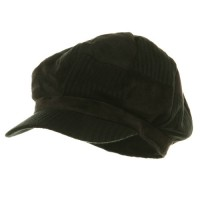 Newsboy - Corduroy Checker Newsboy Cap
