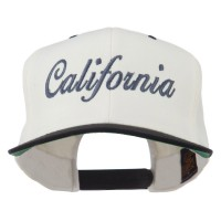 Embroidered Cap - California Embroidered Snapback