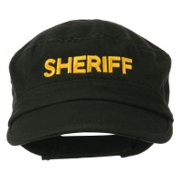 Embroidered Cap - Sheriff Embroidered Army Cap