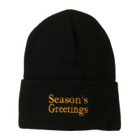 Beanie - Greetings Embroidered Beanie