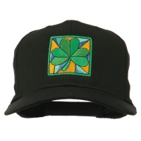 Embroidered Cap - Clover Leaf Embroidered Cap