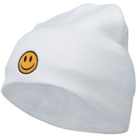 Beanie - Smiley Face Embroidered Beanie