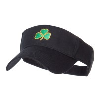 Visor - Shamrock Embroidered Sun Visor