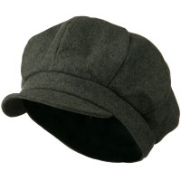 Men s Soft Brim Newsboy Cap with An Adjustable Size Buckle Closure fef03f9a93d5