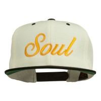 Embroidered Cap - Soul Embroidered Snapback Cap