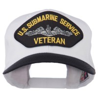 Embroidered Cap - US Submarine Veteran Patched Cap