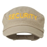 Embroidered Cap - Security Embroidered Army Cap