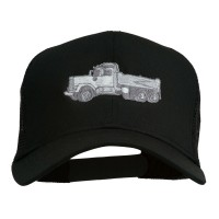 Embroidered Cap - Truck Embroidered Mesh Cap