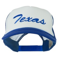 Embroidered Cap - Texas Embroidered Foam Cap