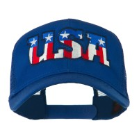 Embroidered Cap - USA American Embroidered Cap