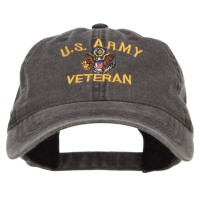 Embroidered Cap - US Army Veteran Embroidered Cap