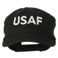 Embroidered Cap - USAF Embroidered Enzyme Army Cap