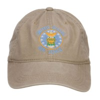 Embroidered Cap - US Air Force Logo Embroidered Cap