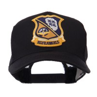 Embroidered Cap - US Navy Patched Mesh Cap | Free Shipping | e4Hats.com