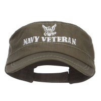 Cadet - Navy Veteran Embroidered Cap