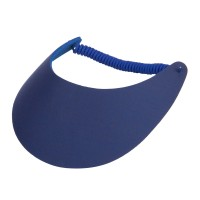 Visor - Fabric Foam Sun String Visor | Free Shipping | e4Hats.com