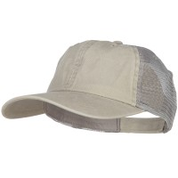 Ball Cap - Washed Pigment Dyed Trucker Cap