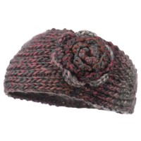 Warmer - Women's Flower Knit Head Band
