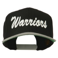 Embroidered Cap - Warriors Embroidered Wool Cap