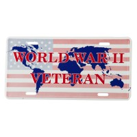 Plate, Frame - World War 3D License Plates
