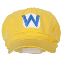 Newsboy - Wario Waluigi Embroidered Cap | Free Shipping | e4Hats.com