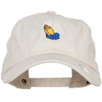 Embroidered Cap - Praying Hands Embroidered Cap