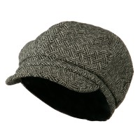 Newsboy - Zig Zag Tweed Newsboy Cap | Free Shipping | e4Hats.com