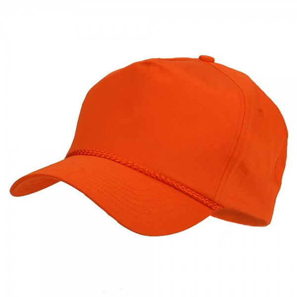e2a1006c1d2 Ball Cap - Orange Light Cotton Twill Golf Cap    e4Hats