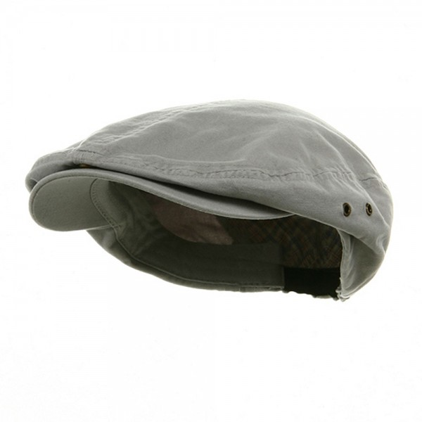 e7036957a20 Ivy - Light Grey Washed Canvas Ivy Cap