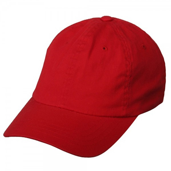 Ball Cap - Red Ultra Fit One Bio-Washed Polo Cap  ddb79faaace