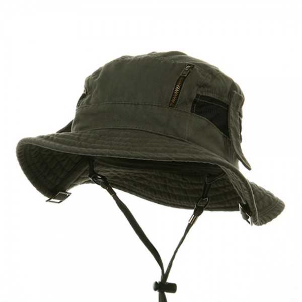 b8eb5499648 Outdoor - Olive Canvas Fisherman Hat