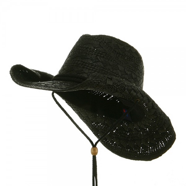 03be7542 Ladies Toyo Cowboy Hat - Black