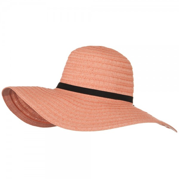 00a0a483 Ladies Fashion Toyo Solid Hat - Peach