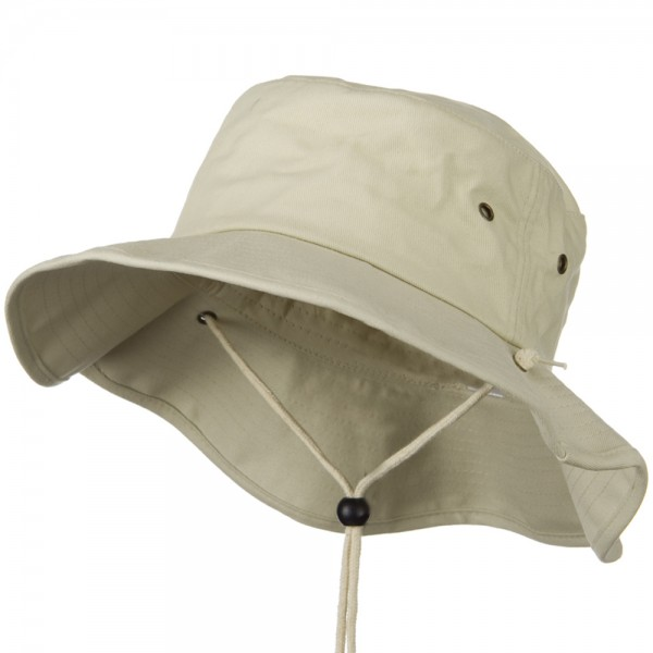 98bd8899549bf8 Outdoor - Stone Big Size Cotton Australian Hat | Coupon Free ...