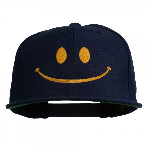 e4Hats.com Smiley Face Embroidered Long Beanie