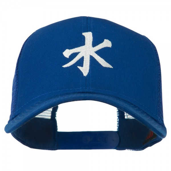 Embroidered Cap Royal Chinese Water Embroidered Cap E4hats