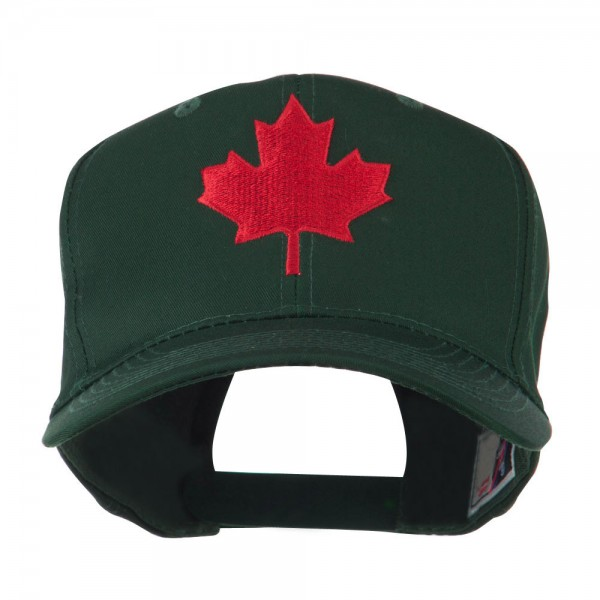 34571d55c Canada's Maple Leaf Embroidered Cap - Green