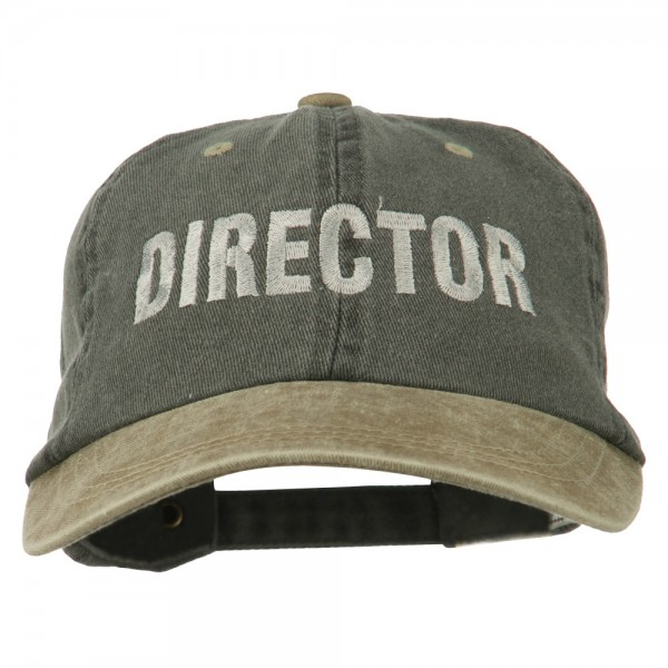 f335bdb0397 Embroidered Cap - Khaki Navy Movie Director Embroidered Cap