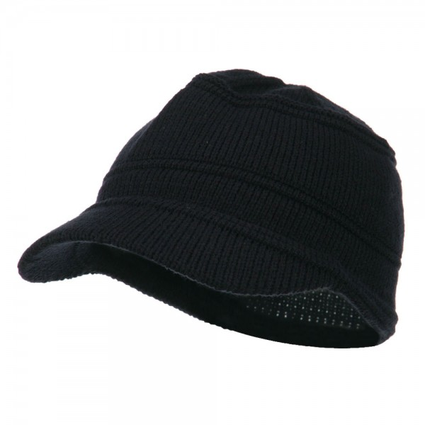 eb8e63938bf Beanie Visored - Navy Army Jeep Style Beanie Cap | Coupon Free ...
