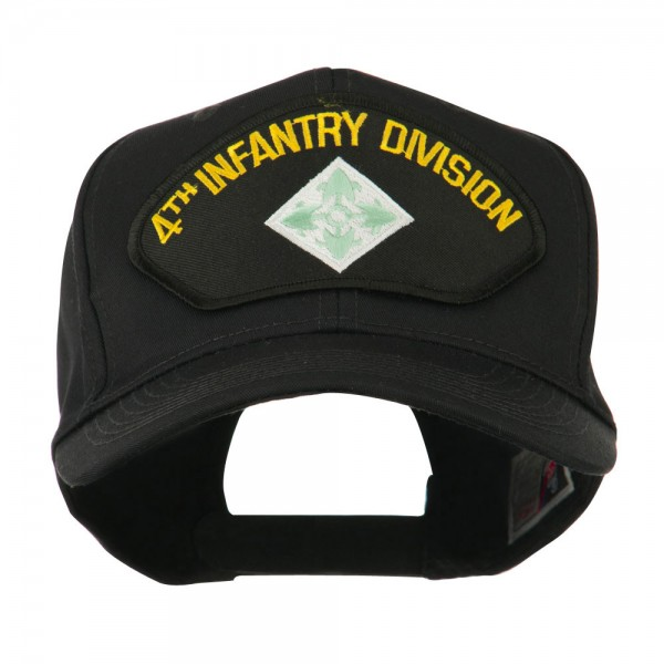 Embroidered Cap - Third Armored US Army Division Large Patched Cap