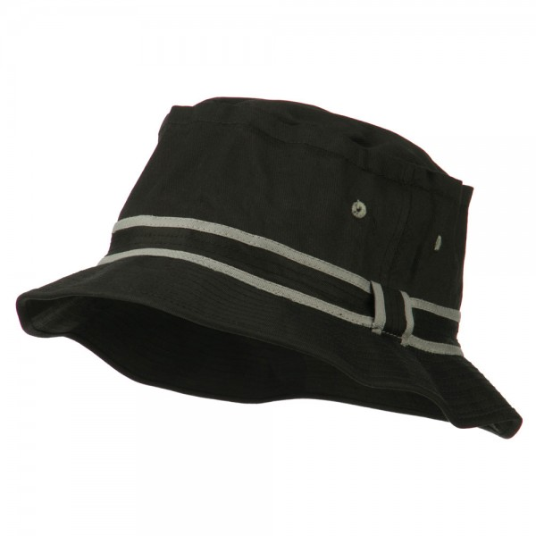 80bb67a3b7e ... Bucket Hat - Black Grey  14.99 ...
