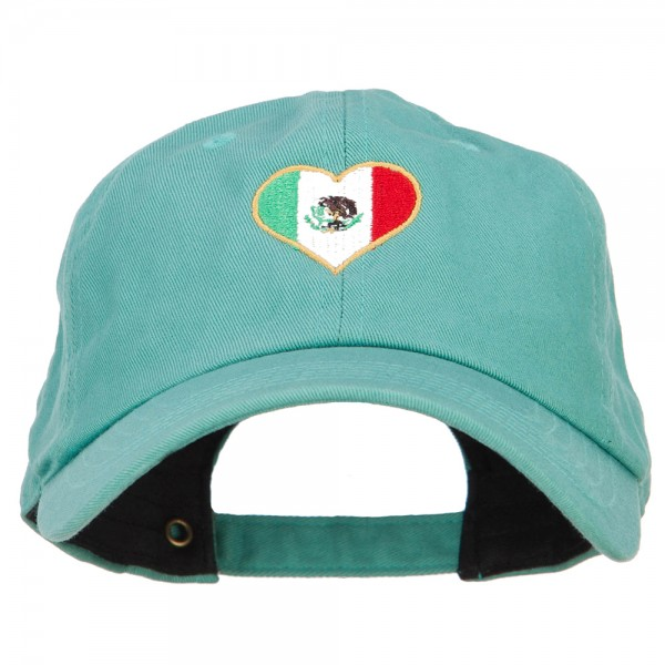 MEXICO BALL CAP IN GREEN W// ADJ STRAP
