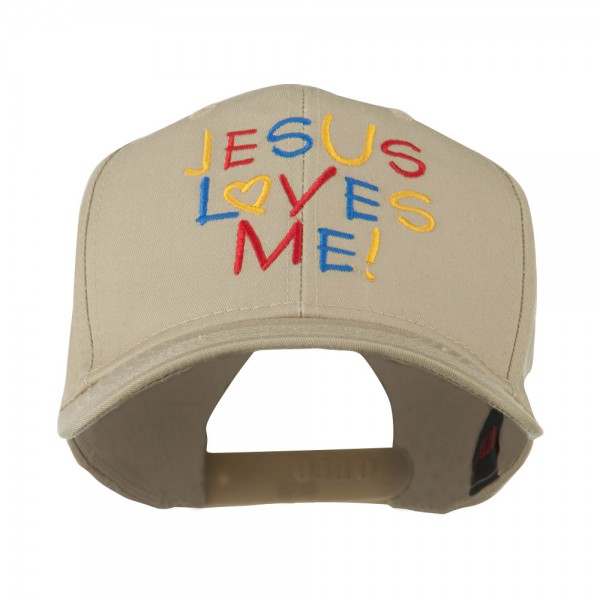4d02275d105 Embroidered Cap - Khaki Jesus Love Embroidered Cap